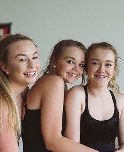 Dance class at The Academy at Shotton Hall