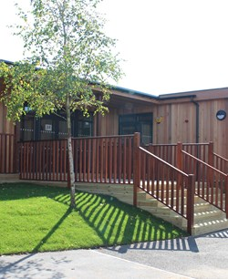 Eco-build classrooms at The Academy at Shotton Hall