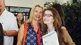 Shotton Hall GCSE results day