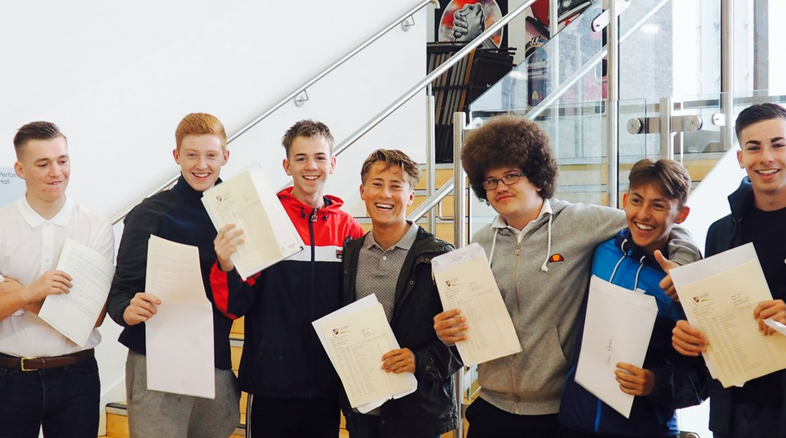 GCSE results Shotton Hall