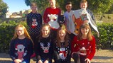 Christmas jumper day in Italy 2016
