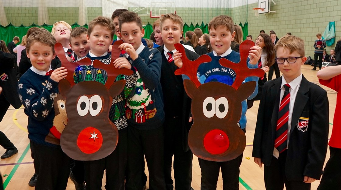 Year 7 Christmas party 2016