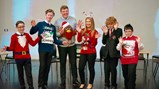 Year 9 Christmas quiz winners
